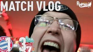 Bayern Munich v Liverpool 1-3 | Matchday Vlog