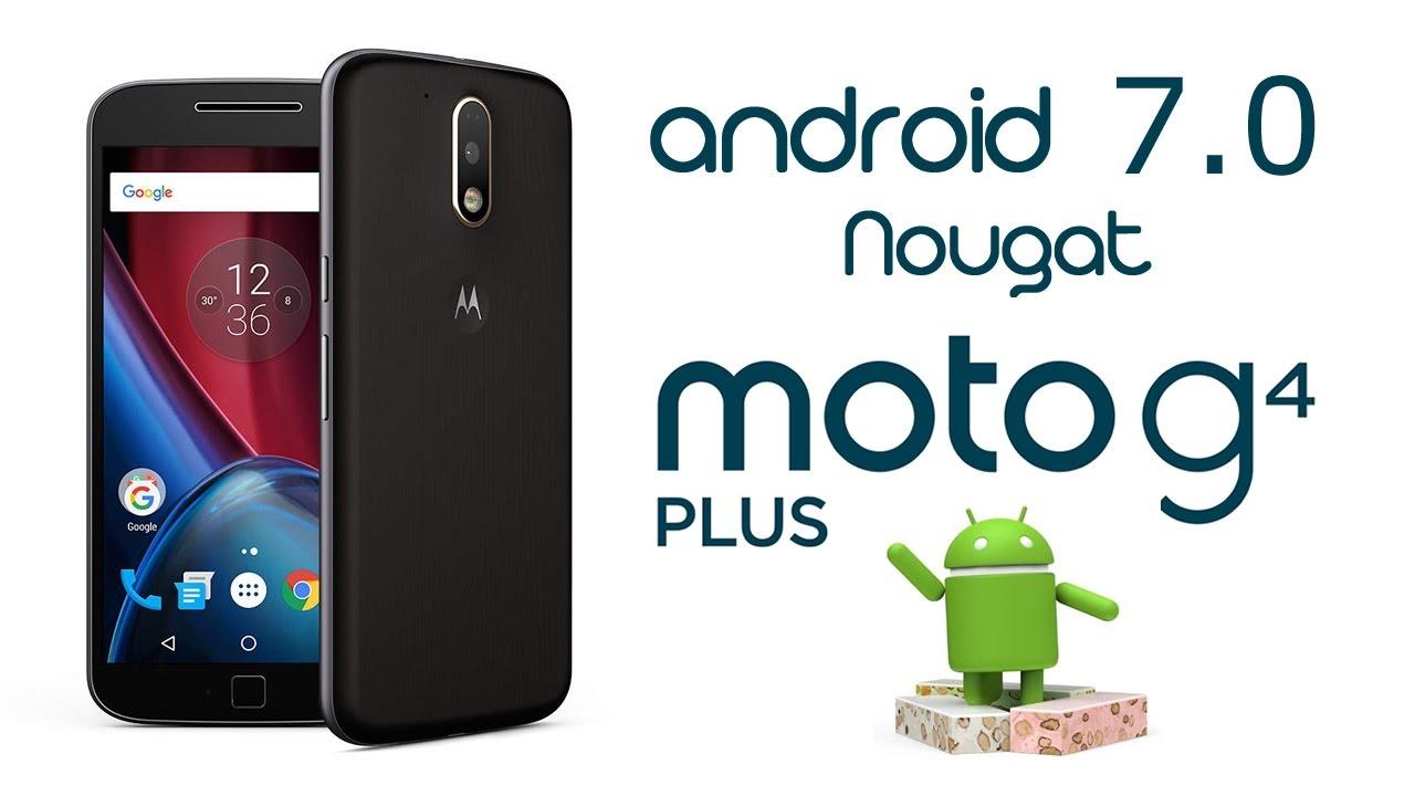 Actualizar Moto G4 Plus a Nougat (Android 7.0) Oficial de ...