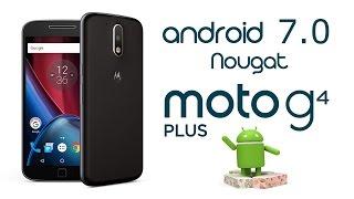 Actualizar Moto G4 Plus a Nougat (Android 7.0) Oficial de Lenovo