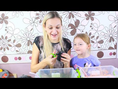 SLIME in BALOANE Challenge Slime Misterios de Halloween/ BALLOON SLIME CHALLENGE