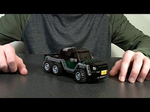 Speed Champions LEGO Mercedes 6x6 MOC
