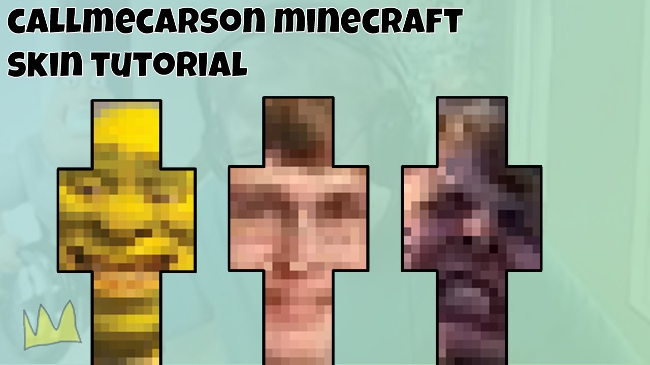 How to put an image on a Minecraft skin [Photoshop Tutorial