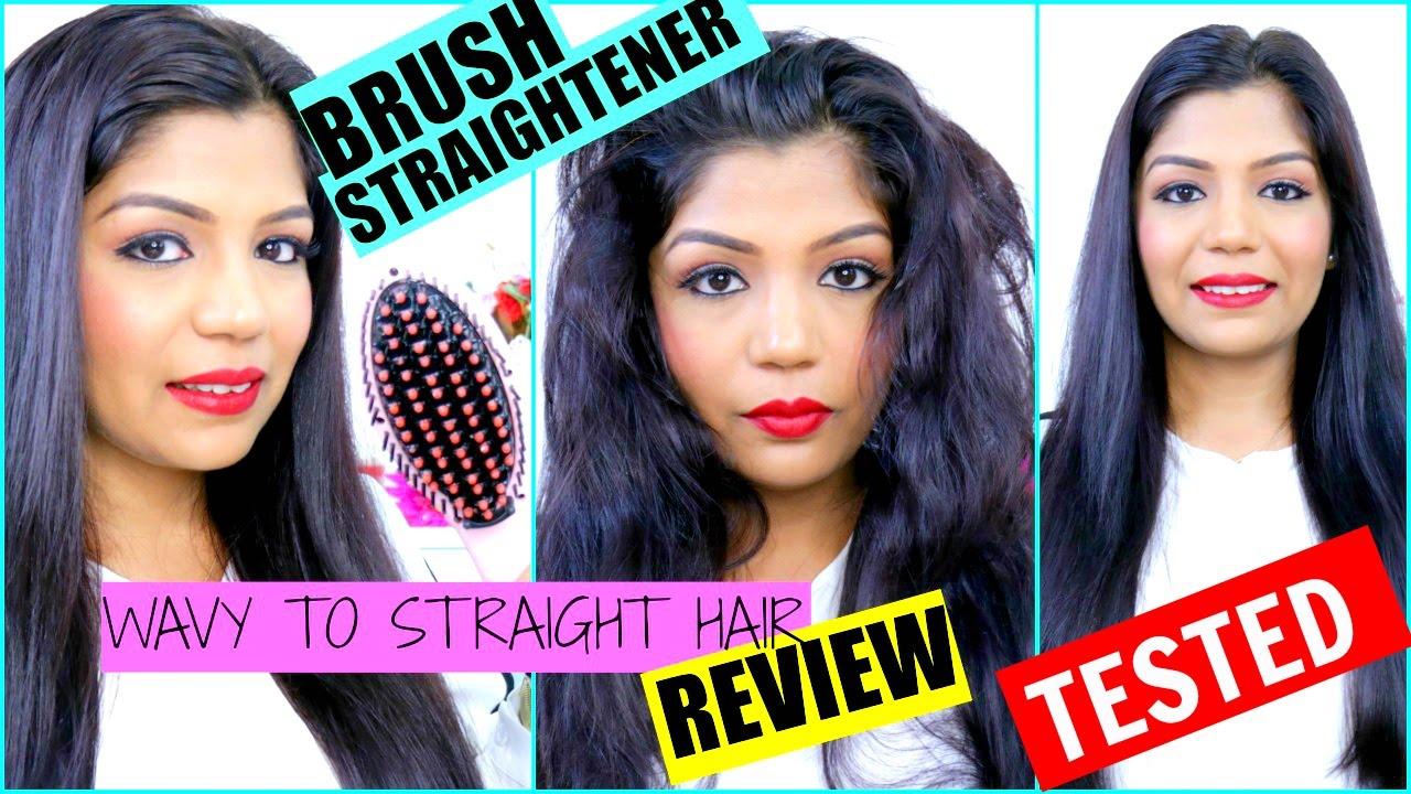 Straight Hair In 2 Minutes Brush Straightener Tried Tested Superprincessjo You