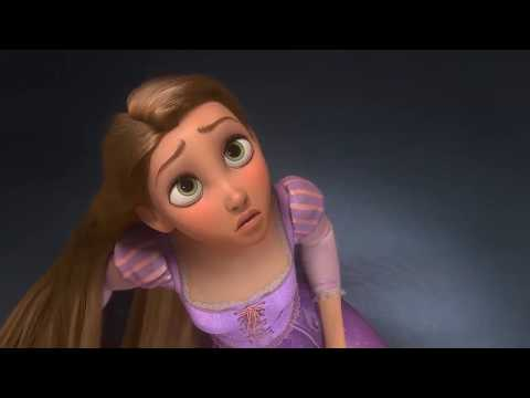 Disney's Tangled: Rapunzel Realizes She's the Lost Princess