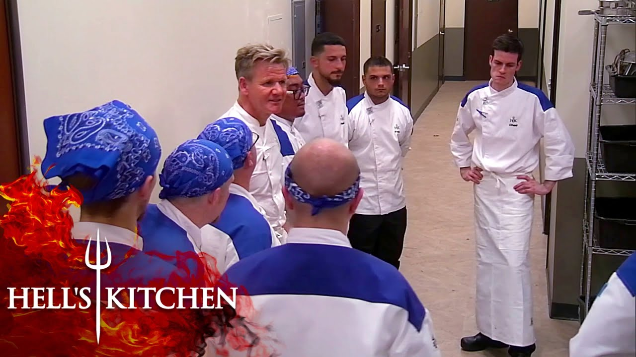 Gordon KICKS OUT Blue Team After Customers Leave | Hell's Kitchen