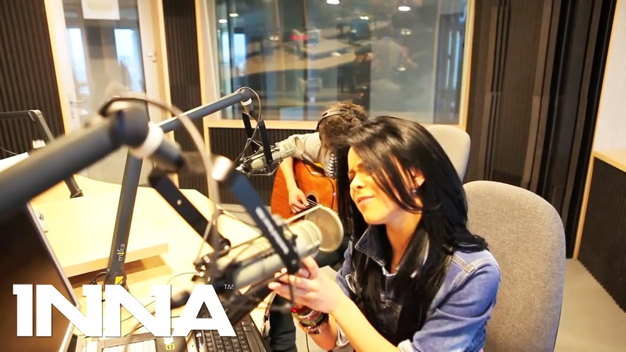 INNA - Acoustic cover of international classic songs | Live @ Kiss Fm