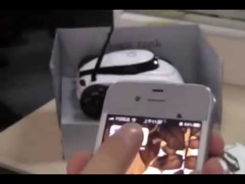 Iphone controlled spy drone