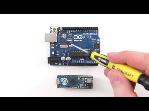 Arduino Uno Und Arduino Micro Im Vergleich