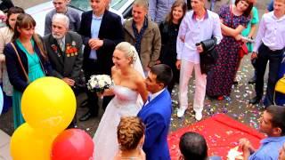 Веселая и в тоже время трогательная свадьба. Наташа и Александр.