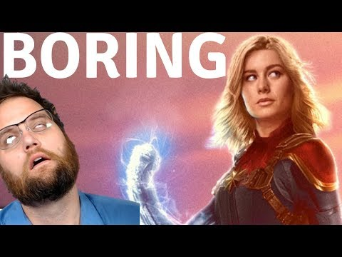 Captain Marvel  Reaction! Brie Larson Bored At The Grocery Store