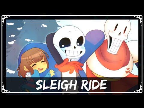 Undertale Remix Sharax Sleigh Ride Gaster Sans Papyrus Vocals