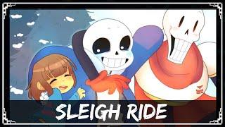 [Undertale Remix] SharaX - Sleigh Ride (Gaster, Sans & Papyrus Vocals)
