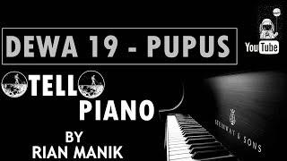 Dewa 19 Pupus Piano Cover Tutorial Karaoke Full Band Lyrics cc