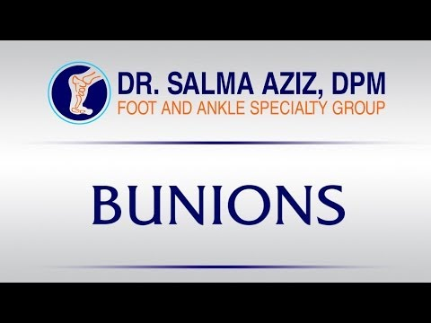 Bunion Removal Surgery by Dr Salma Aziz at Foot and Ankle Specialty Group in Orange County