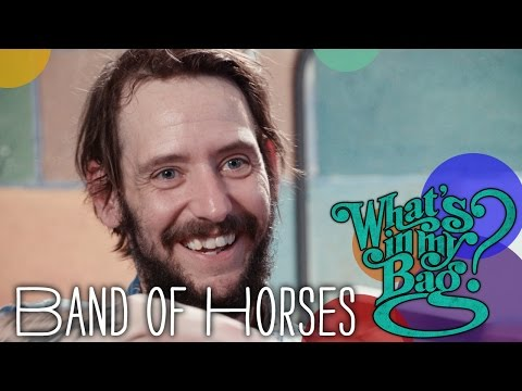 Band of Horses - What's In My Bag?