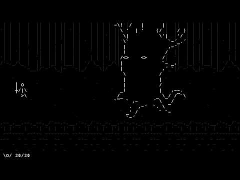 Check out the animations on this upcoming ASCII adventure - Kill Screen