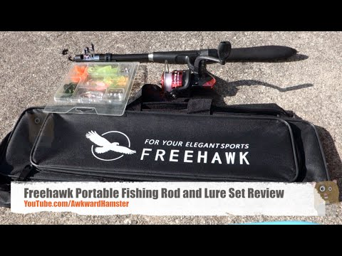 Freehawk Portable Fishing Rod and Lure Set Review