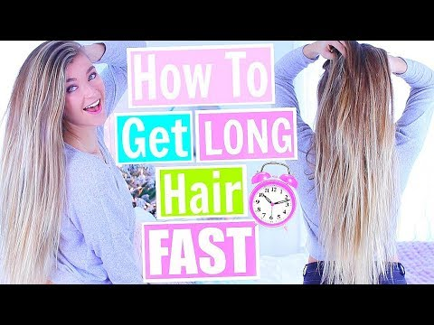 How To Grow Your Hair Long FAST! Grow Your Hair in a WEEK! 2018