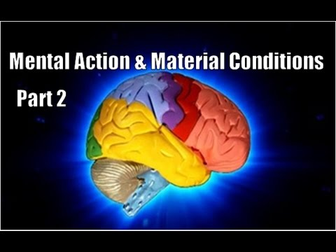 The Science Behind Mental Action & Material Conditions - Edi