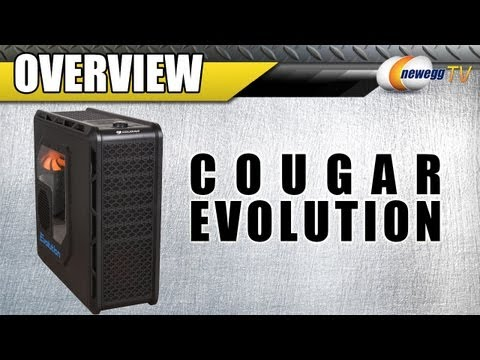 Newegg TV: Cougar Evolution Black ATX Mid Tower PC Case Product Tour - 동영상