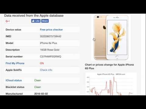 iphone imei checker icloud status (clean lost stolen erase)