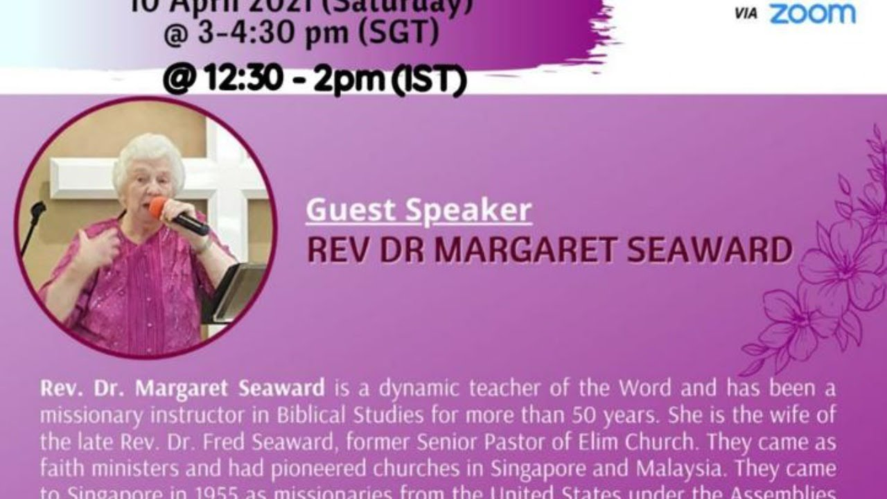 Supernatural Living | Margaret Seaward | PROFIT Women's Session 2021 | PROFIT Singapore | Apr 2