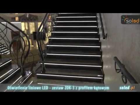 Oświetlenie Schodów Oświetlenie Schodowe Led Schody