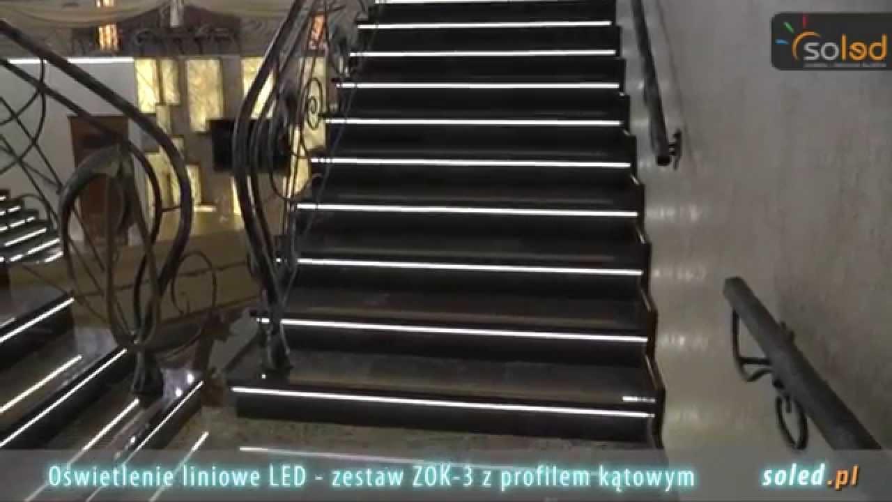 Oświetlenie Schodów Oświetlenie Schodowe Led Schody Podświetlane Soled