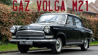 Gaz VOLGA M21 Goes for a Drive