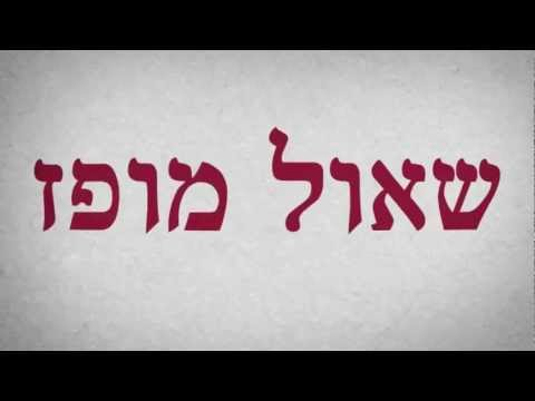Kadima TV Ad 2013 Israeli Elections - Shaul Mofaz - english subtitles