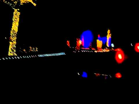Musical Christmas lights display OKC