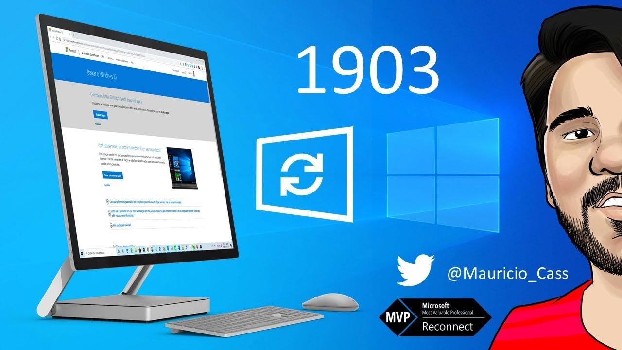 Atualizando o Windows 10 para a build 1903 (Atualização de Maio de 2019)