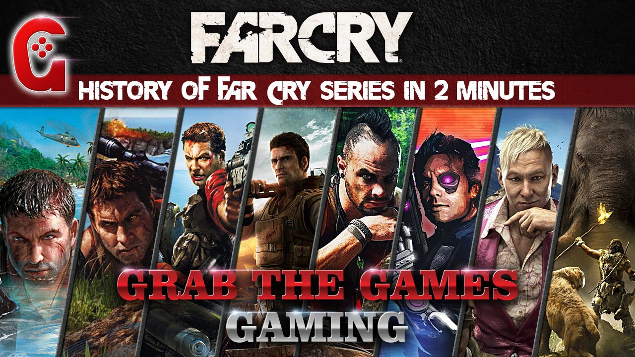 History Of Far Cry Series In 2 Minutes Farcry Youtube
