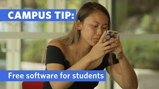 Campus Tip: Free Software