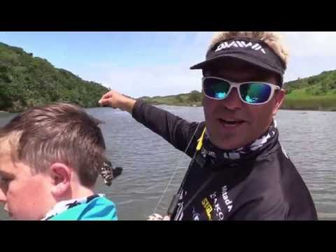 ASFN Power ANgling - Dean & his son hitting the Estuary