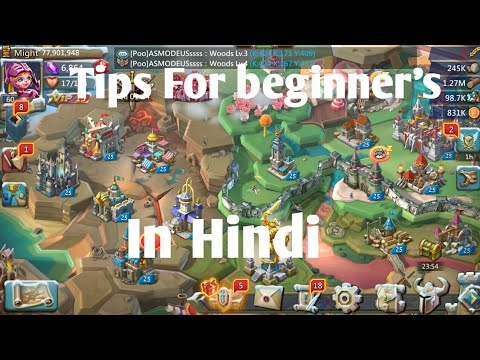 Beginners Tips In Hindi Lords Mobile | Lords Mobile Tips & Tricks For Beginner