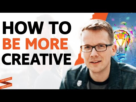 The SECRET To CREATIVE THINKING Explained For SUCCESS   Hank Green & Lewis Howes