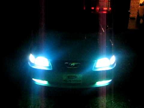 2002 Ford Mustang Gt Hid Lights And Led Turn Signals