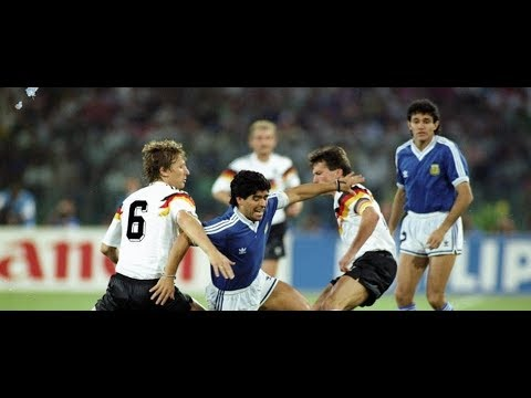 Germany vs Argentina 1990 FIFA World Cup Final