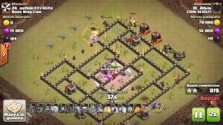 Clash of Clans - [CANI SCIOLT1] Vs [Bada Bing Clan]