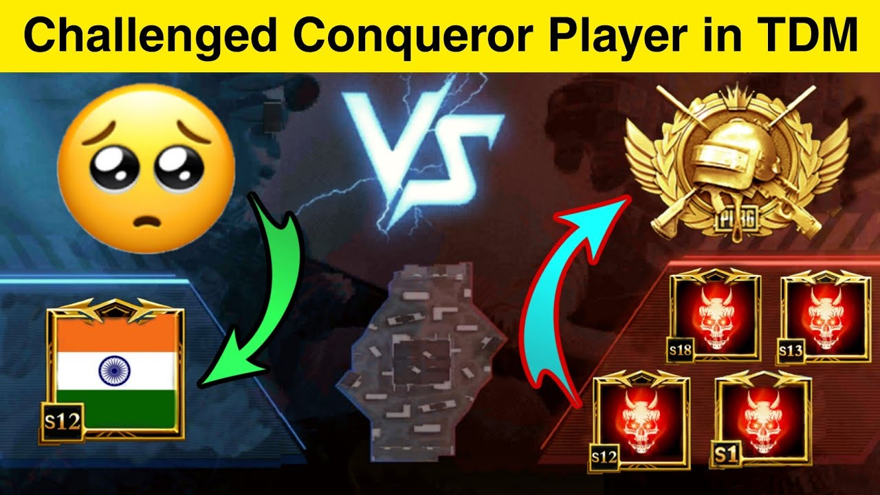 🔥Conqueror Player Challenged by Me for 1vs3 TDM👿🥵|Samsung,A3,A5,A6,A7,J2,J2,J5,J7,S5,S6,S7,A10