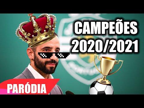 ♫ SPORTING, CAMPEÃO 2020/2021 - PARÓDIA - DANÇA KUDURO