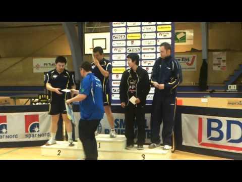Winners of Mens Elite (single) at Nordsø Cup 2012 in Hirtshals, Denmark