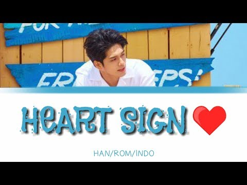 옹성우 (Ong Seong Wu) – Heart Sign [ HAN/ROM/INDO] Color Coded Lyrics