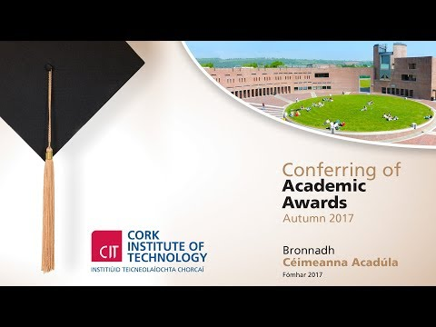 CIT Conferring Ceremony - Thursday 3:30pm