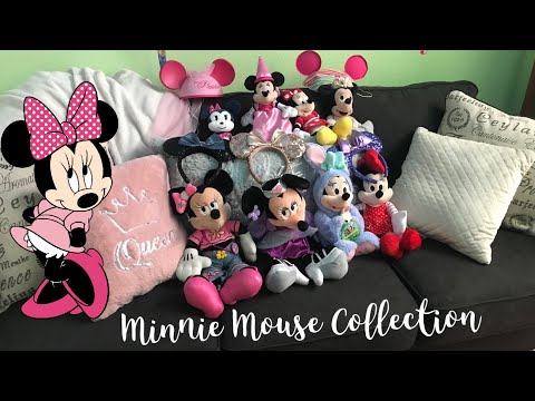 Ultimate Minnie Mouse Collection! 🎀 Plush + Pins + Ears + Clothes | Disney Store Galore! |
