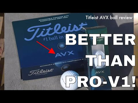 Titliest AVX, Golf Vlog with New Ball and REVIEW!!!