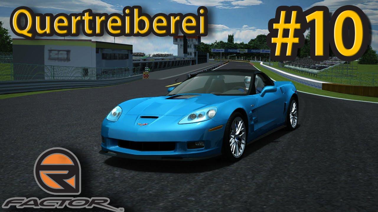Quertreiberei #10 | rfactor Corvette Z06 ZR1 @ Tsukuba