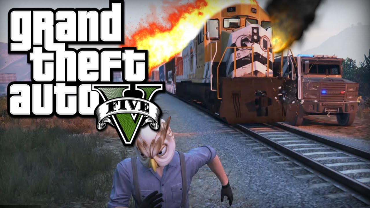 Tren Soygunu Gta 5 Online Pc Youtube