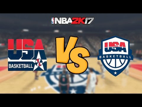 NBA 2K17 - '92 Dream Team vs. 2016 Team USA - Full Gameplay
